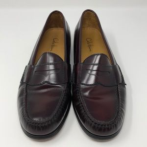 Cole Haan Loafers Burgundy Size 8.5